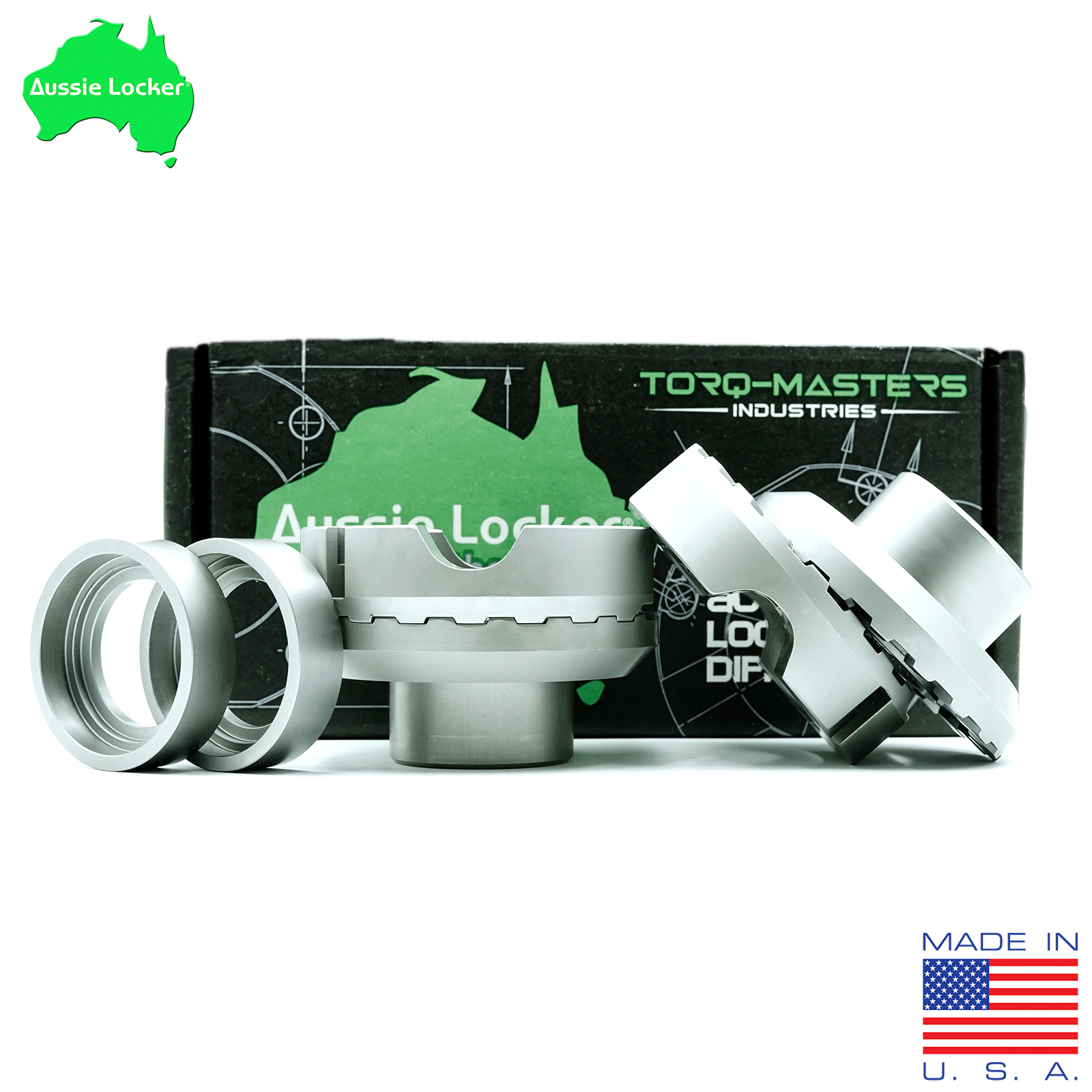Aussie Locker D44 Aluminum Locker