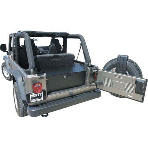 Tuffy Security Rear Cargo Drawer - LJ