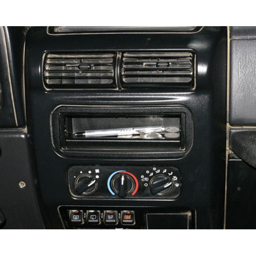 Tuffy Security Dashboard Single DIN Stereo Cutout Tray
