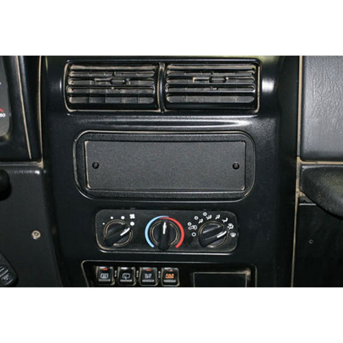 Tuffy Security Dashboard Single DIN Stereo Cutout Cover