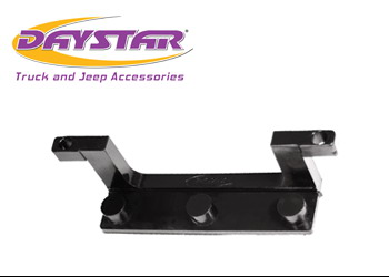 Daystar License Plate Bracket for Winch Fairlead Isolator - Black