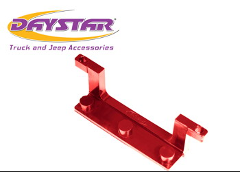 Daystar License Plate Bracket for Winch Fairlead Isolator - Red