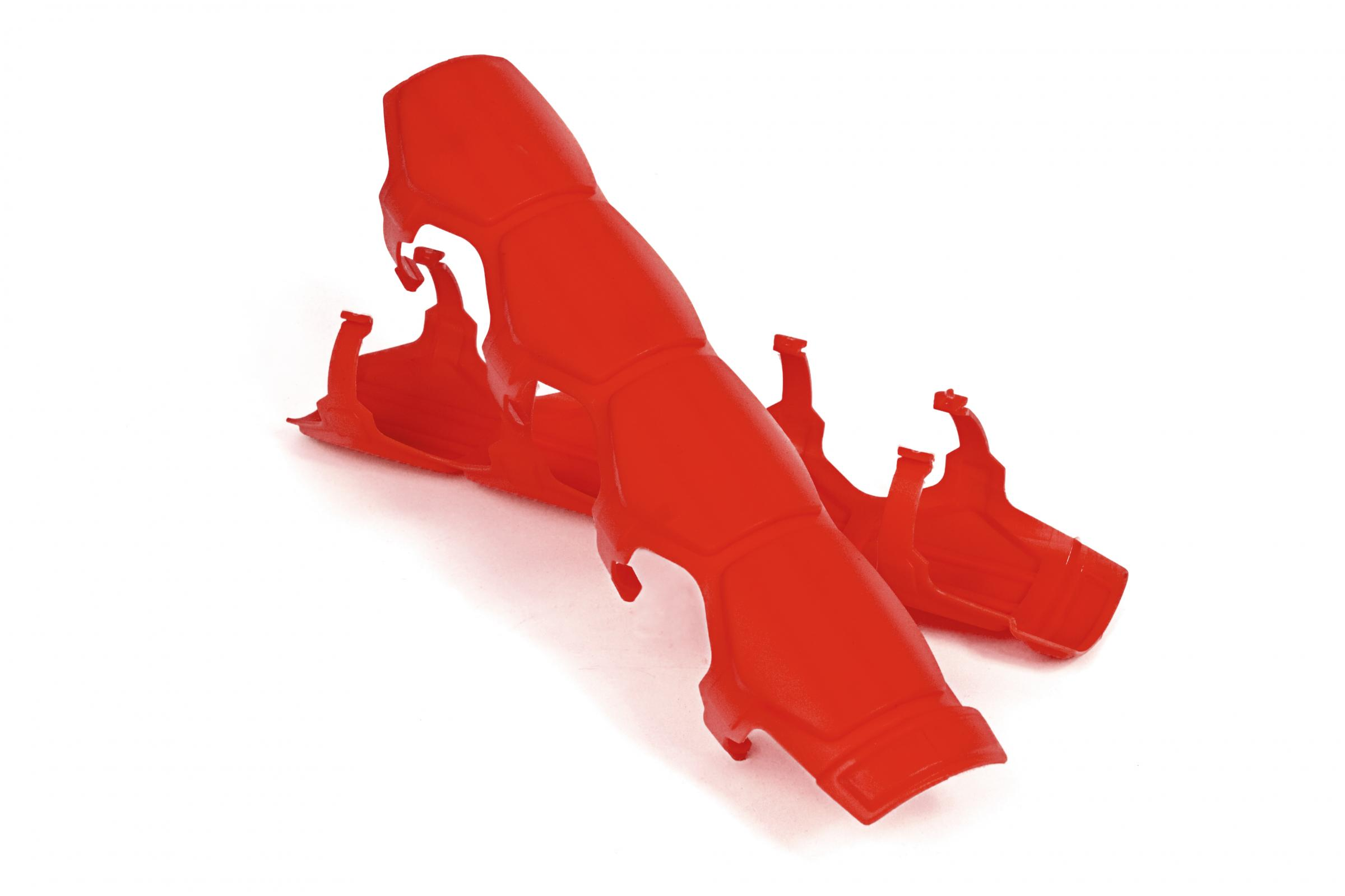 Daystar Shock & Steering Stabilizer Armor Red