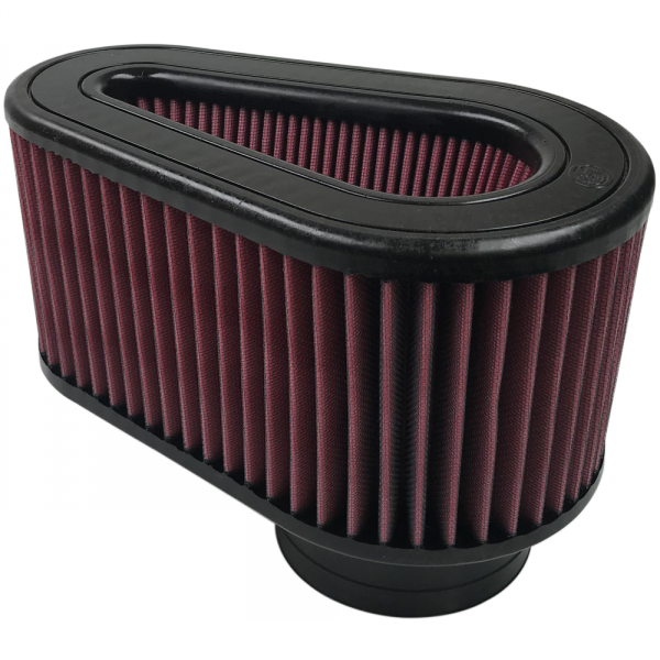 S&B Filter KF-1054 Air Filter For Intake Kits 75-5032 Oiled Cotton Cleanable Red