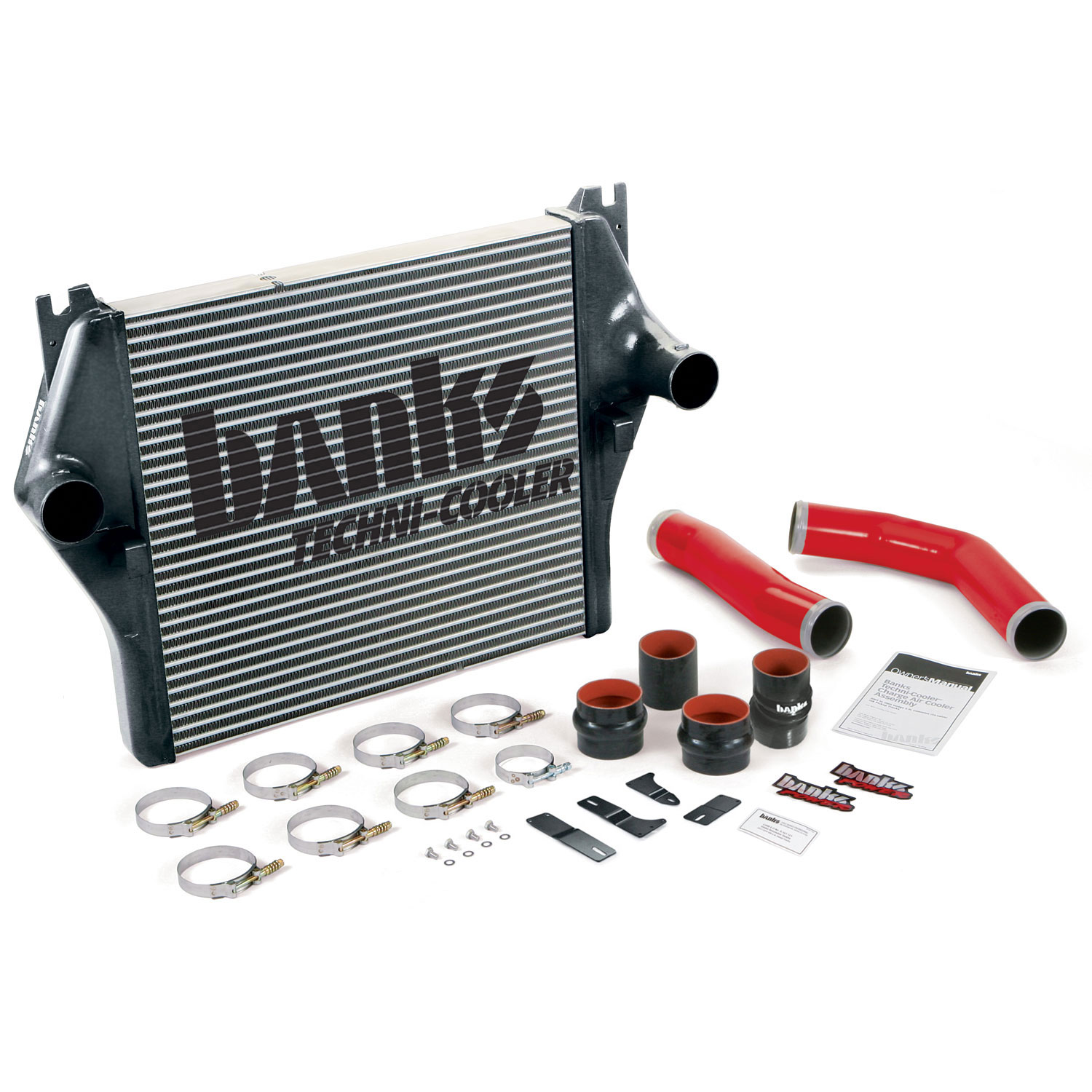 Intercooler System W/Boost Tubes 07-08 Dodge 6.7L Banks Power