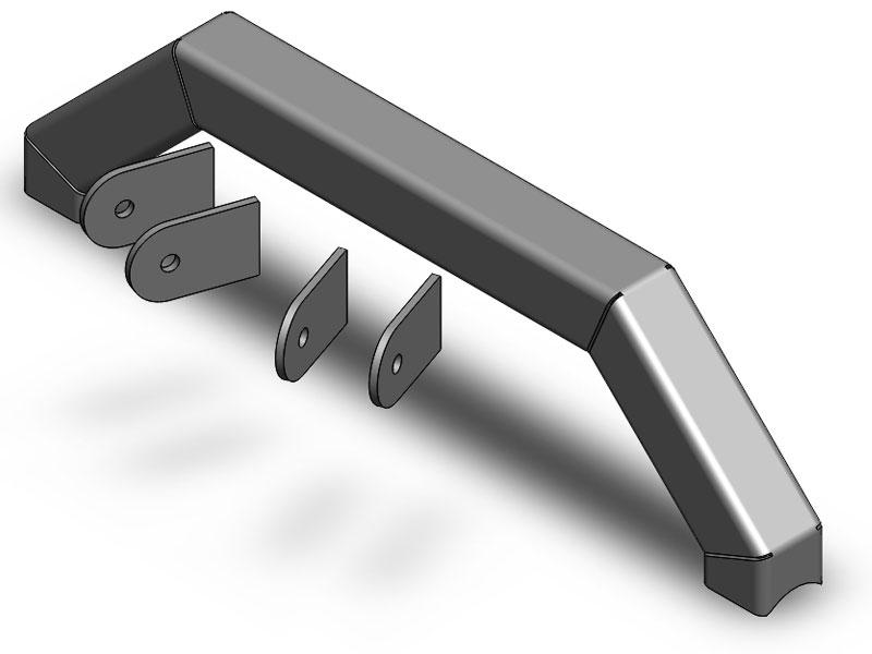 Clayton 4 Link axle truss - Builder Series- Unwelded  4 tabs included  - TJ/LJ/XJ/ZJ/WJ