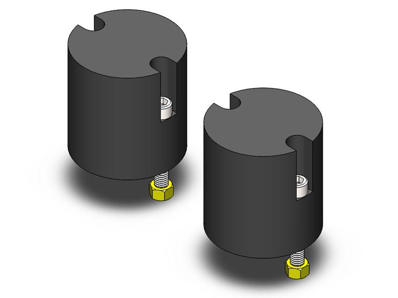 Clayton Rear 3.5-4.5in Lift Bumpstops