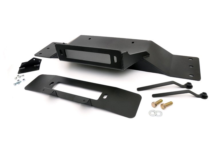 Rough Country Hidden Winch Mounting Plate - F-150 2009-14
