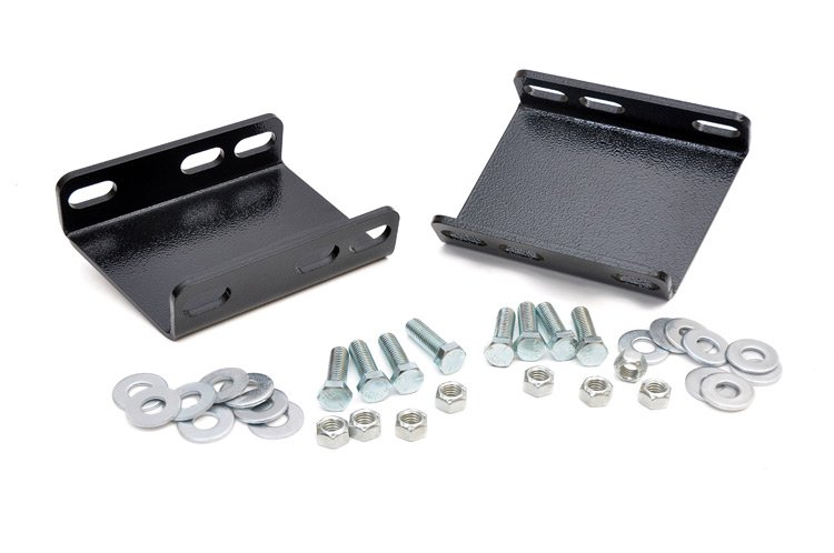 Rough Country Front Sway Bar Drop Brackets - Ford