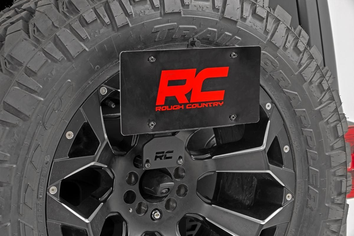 Rough Country License Plate Adapter - JL