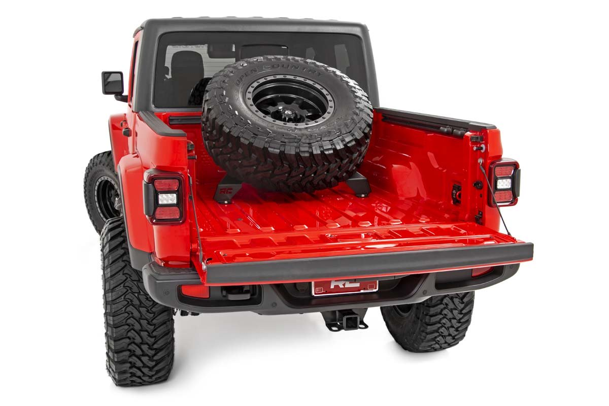 Rough Country Bed Mounted Tire Carrier - JT