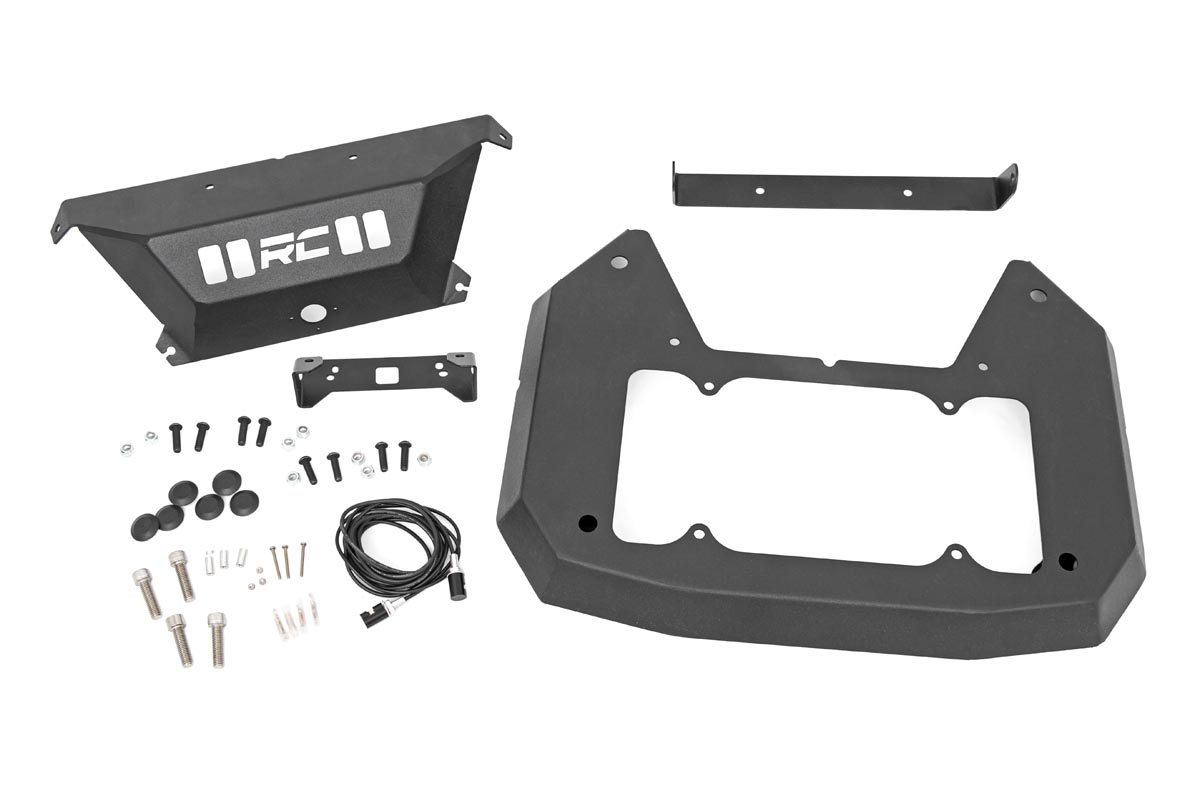 Rough Country Spare Tire Delete Kit - JL