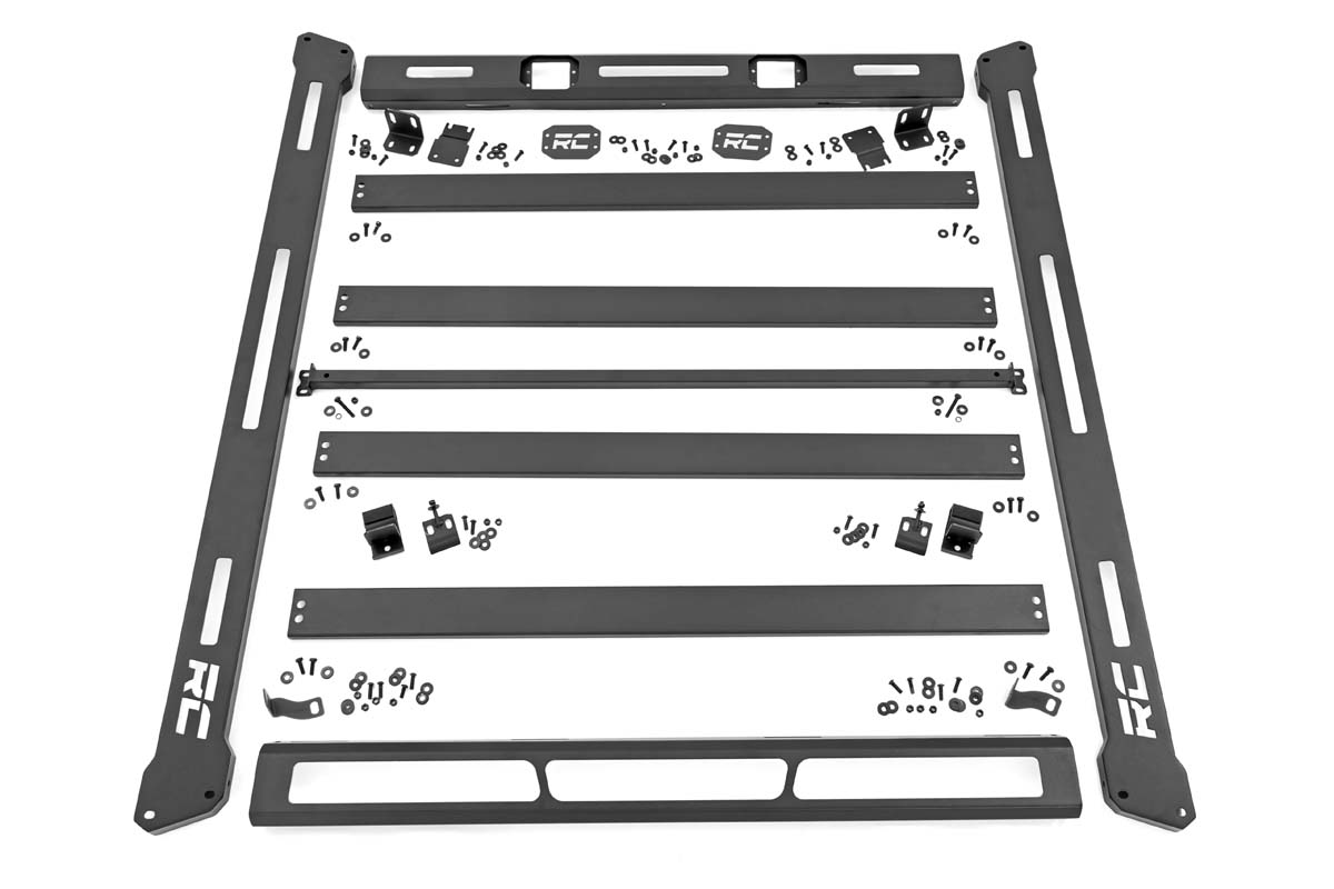 Rough Country Roof Rack System - No LED Lights - JL