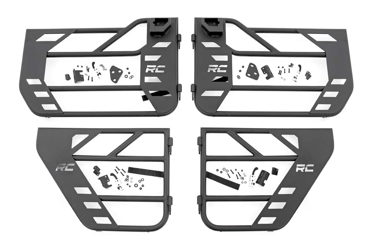Rough Country Front and Rear Steel Tube Doors   - JT/JL