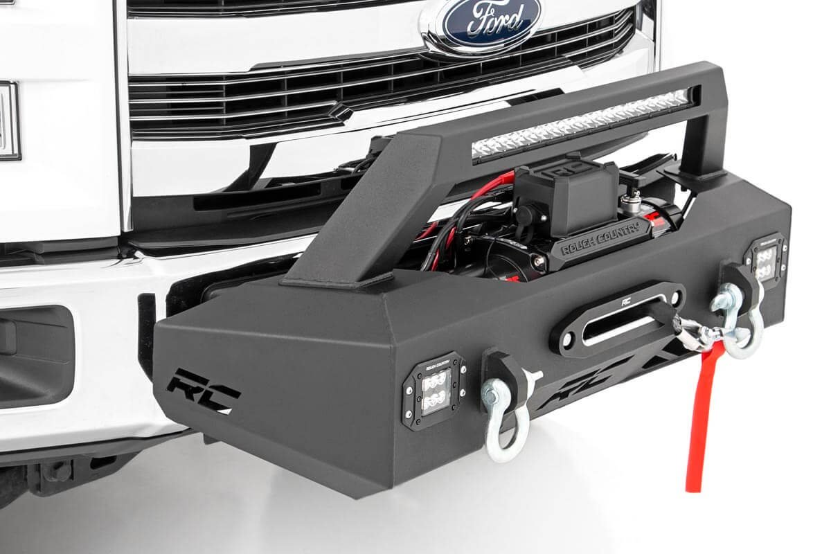 Rough Country EXO Winch Mount Lift Kit - Ford F-150 2009-20