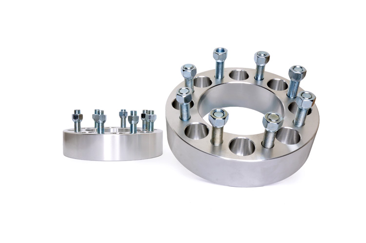 Rough Country 2in Wheel Spacers, Pair - 4WD Dodge Ram 2500 94-11