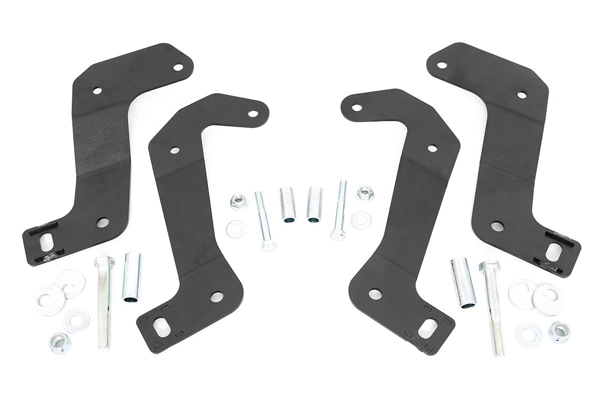 Rough Country Front Control Arm Relocation Brackets  - JT/JL