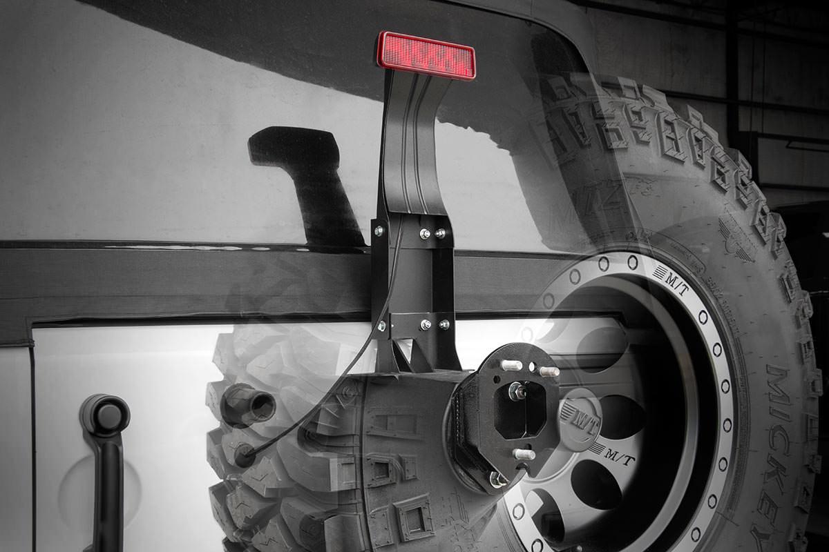 Rough Country 3rd Brake Light Extension - JK