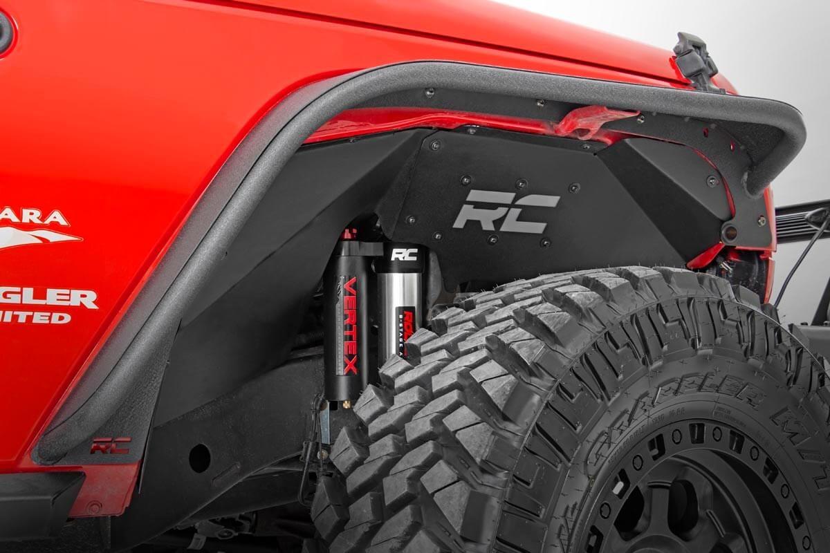 Rough Country Jeep Inner Fenders  - JK