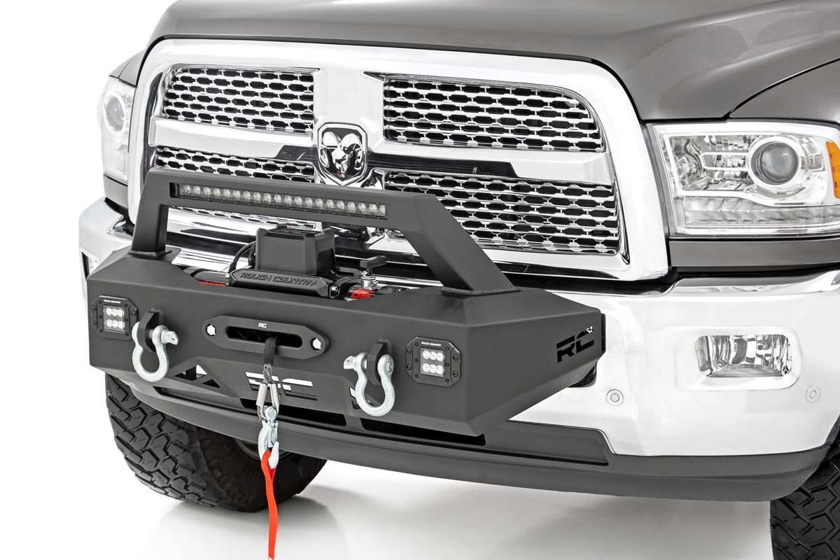 Rough Country EXO Winch Mount System - Ram 2500 2014-18