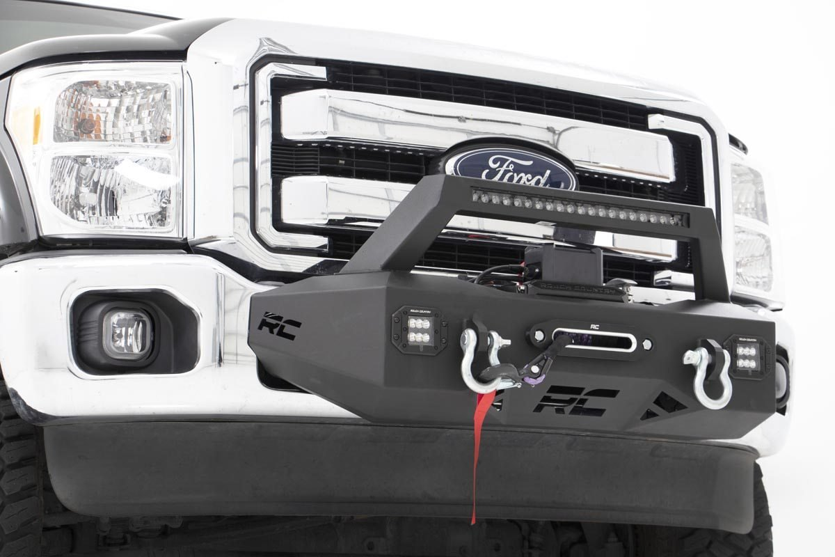 Rough Country EXO Winch Mount System - Ford F-250/F-350 2011-16
