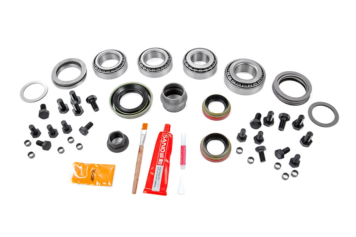 Rough Country Dana 30 Ring & Pinion Gear Set Master Install Kit - JK