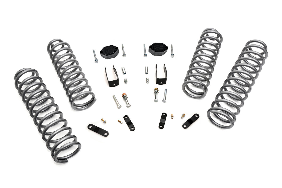 Rough Country 2.5in Suspension Lift Kit - JK 2dr