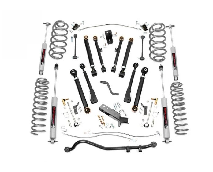 Rough Country X-Series Suspension Lift System 4in - TJ/LJ