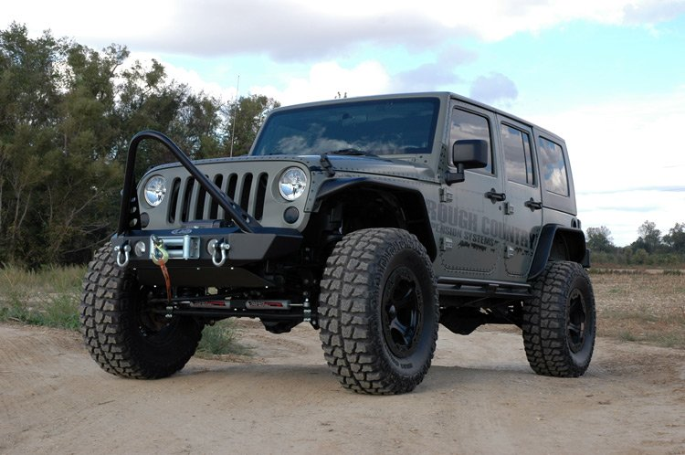 Rough Country X-Series Suspension Lift System 6in - JK 4dr