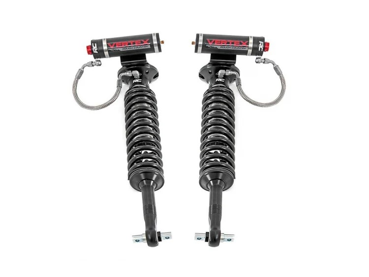 Rough Country Front Adjustable Vertex Coilovers - F-150 14-19 for 6.5-7.5in Lifts