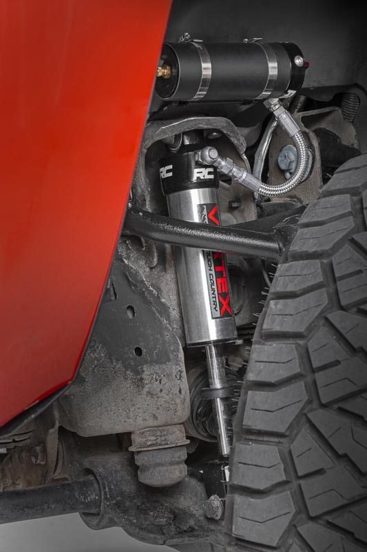 Rough Country Front Adjustable Vertex Shocks - Silverado/Sierra 2500/3500 for 3-4.5in Lifts 09-11
