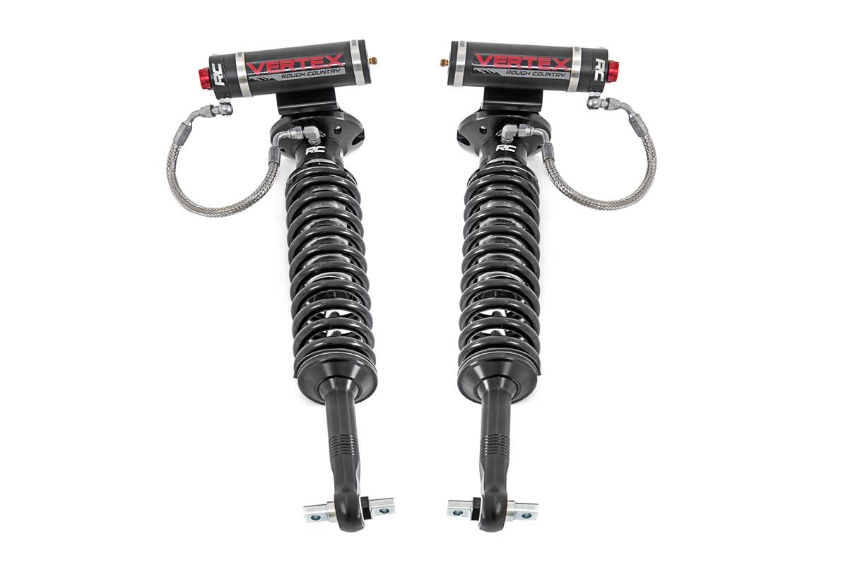 Rough Country 2in Front Adjustable Vertex Coilover Leveling Kit - F-150 4WD 2014-20