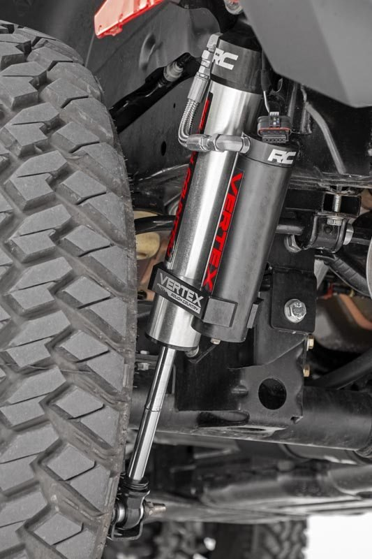 Rough Country Vertex Adjustable Shocks, 3.5in-4.5in Lift - Rear - JL