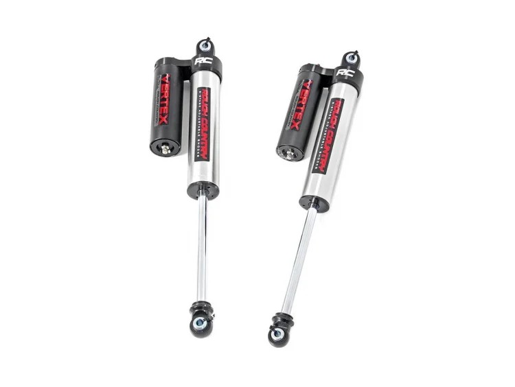 Rough Country Rear Adjustable Vertex Shocks for 0-3.5in Lift - F-150 4WD 2015-21
