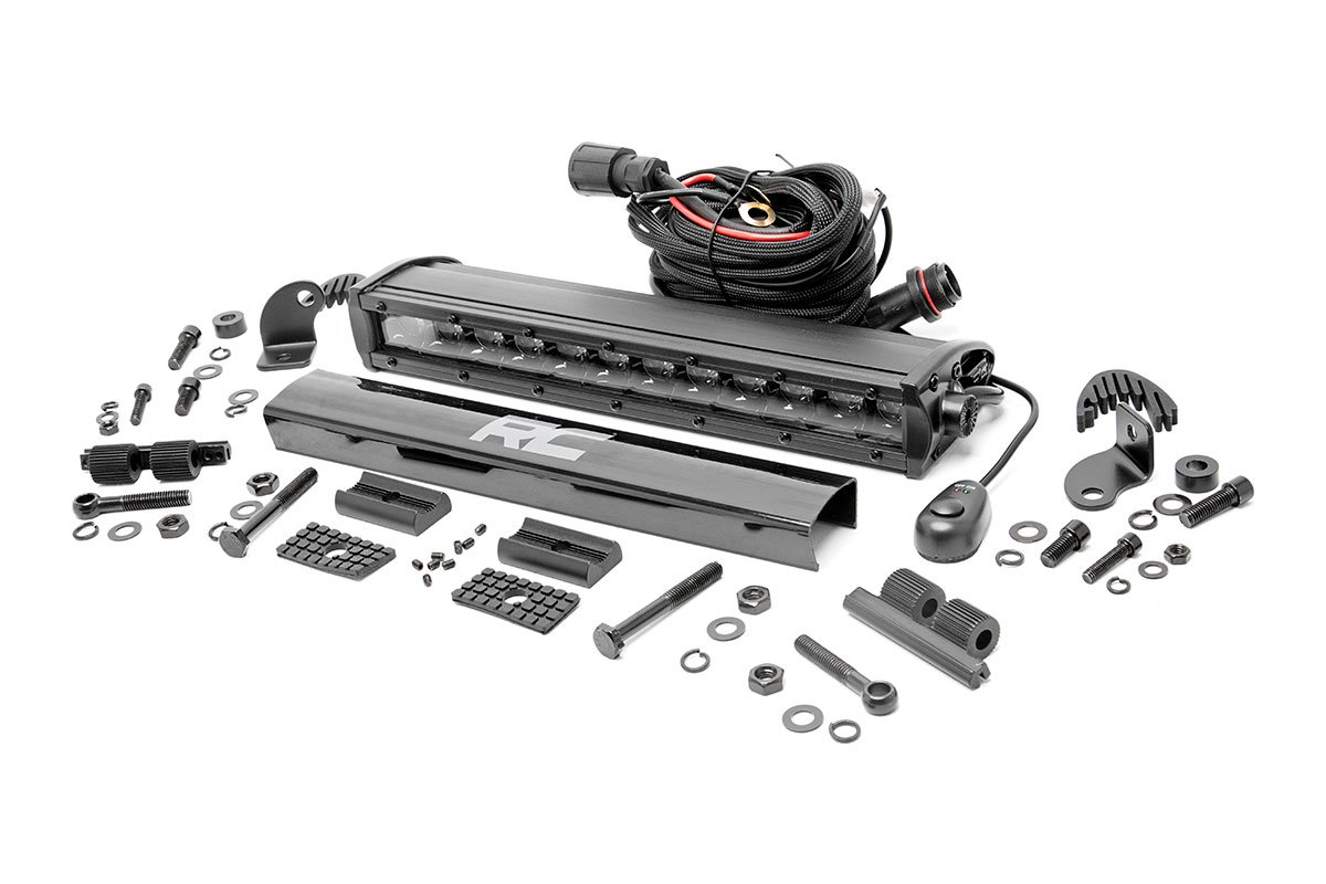 Rough Country 12in Black Series Single Row Light Bar