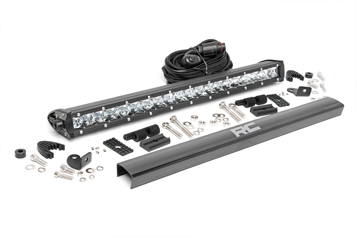 Rough Country Chrome Series CREE LED Light Bar Spot 20in