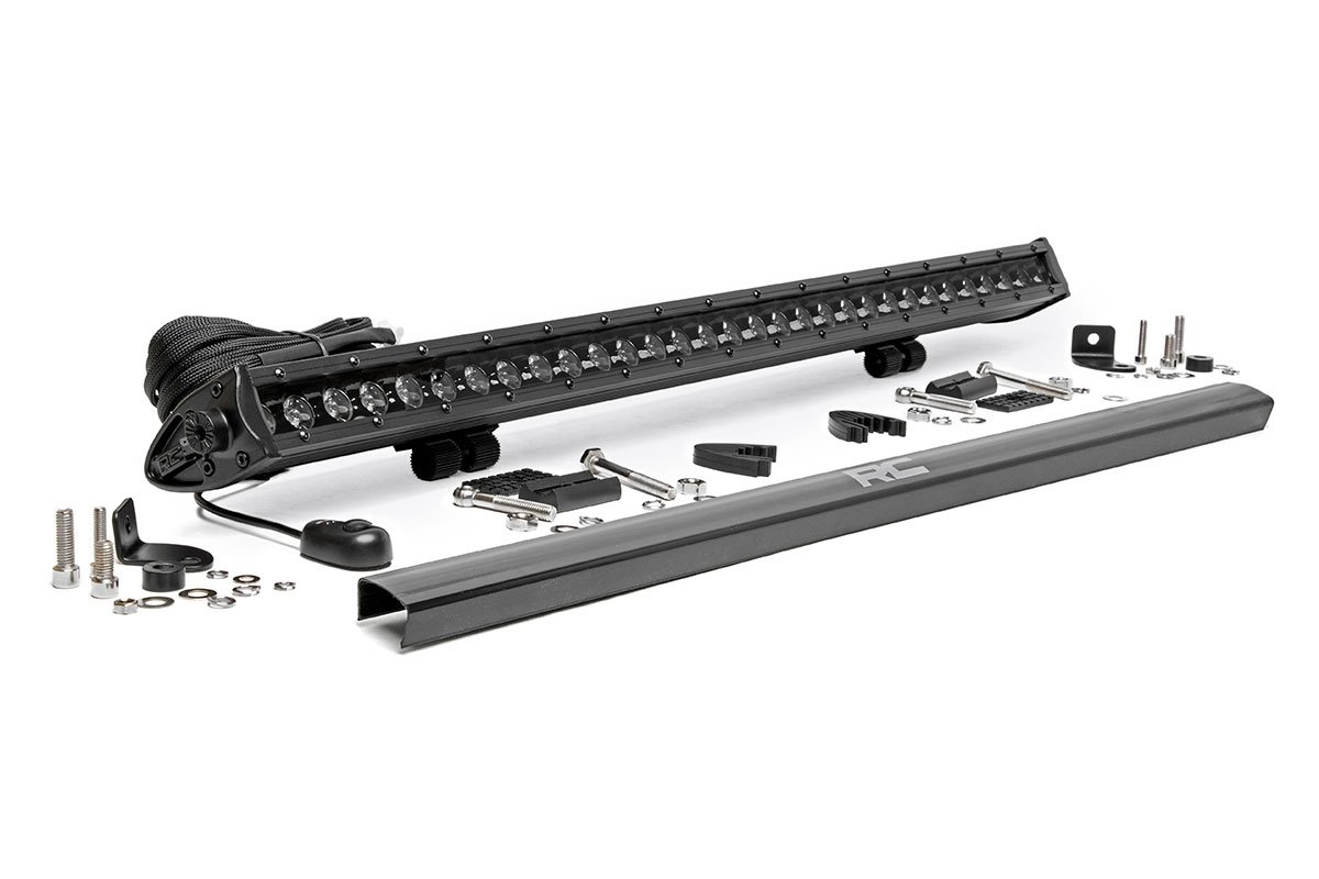Rough Country 30in Black Series Single Row Light Bar