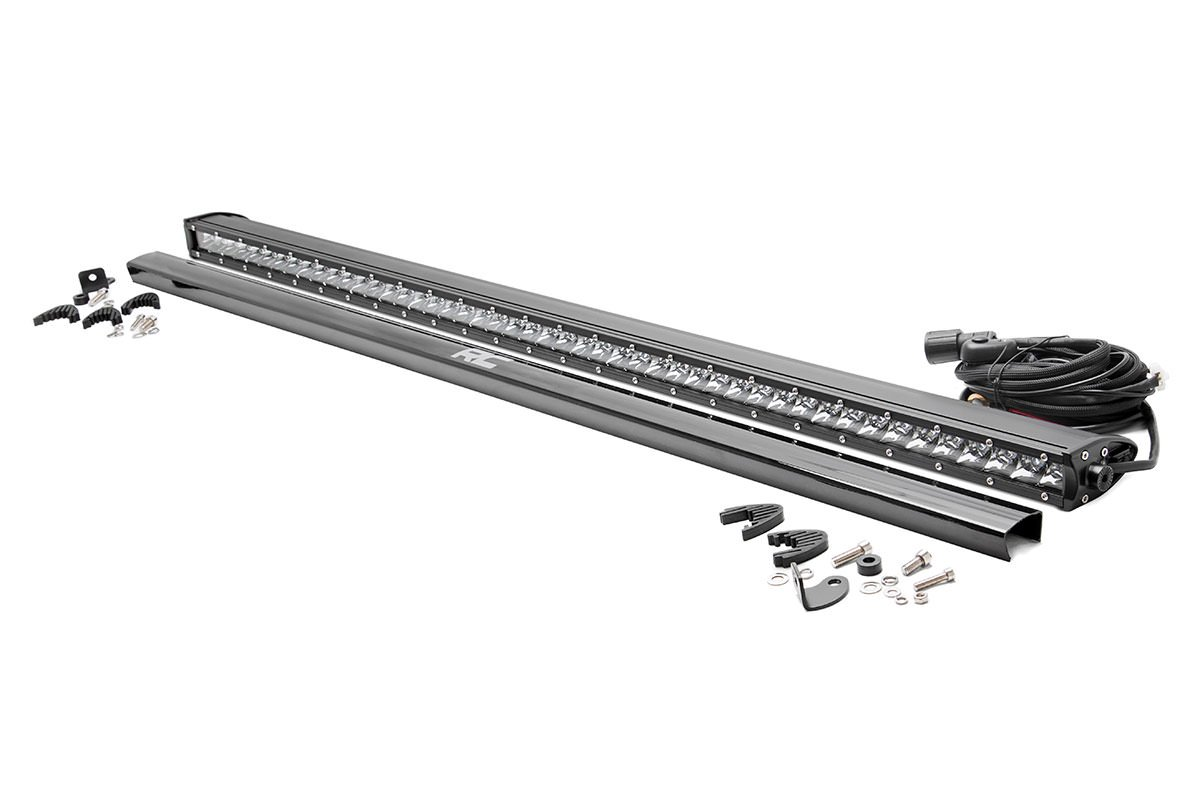 Rough Country 50in Chrome Series Single Row Light Bar