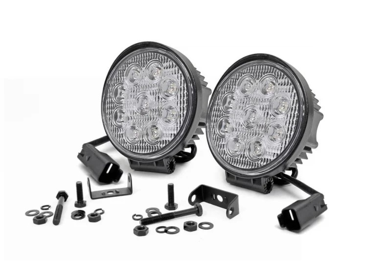 Rough Country LED Round Lights 4in