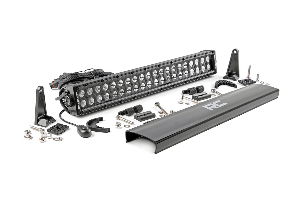 Rough Country 20in Black Series Dual Row Light Bar