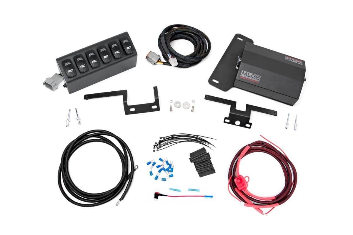 Rough Country Multiple Light Controller w/ 6-Switch Hub - JK