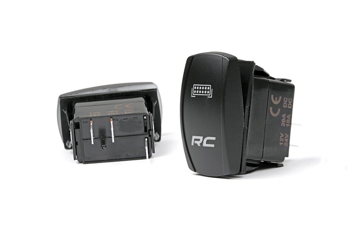 Rough Country Backlit Rocker Switch