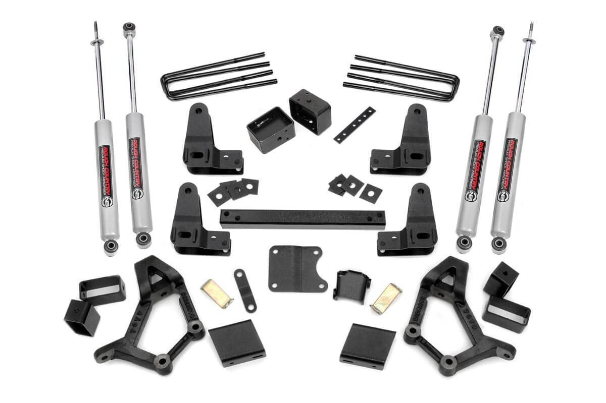Rough Country 4-5 Inch Toyota Suspension Lift Kit 89-95 Toyota Pickup Std Cab Rough Country