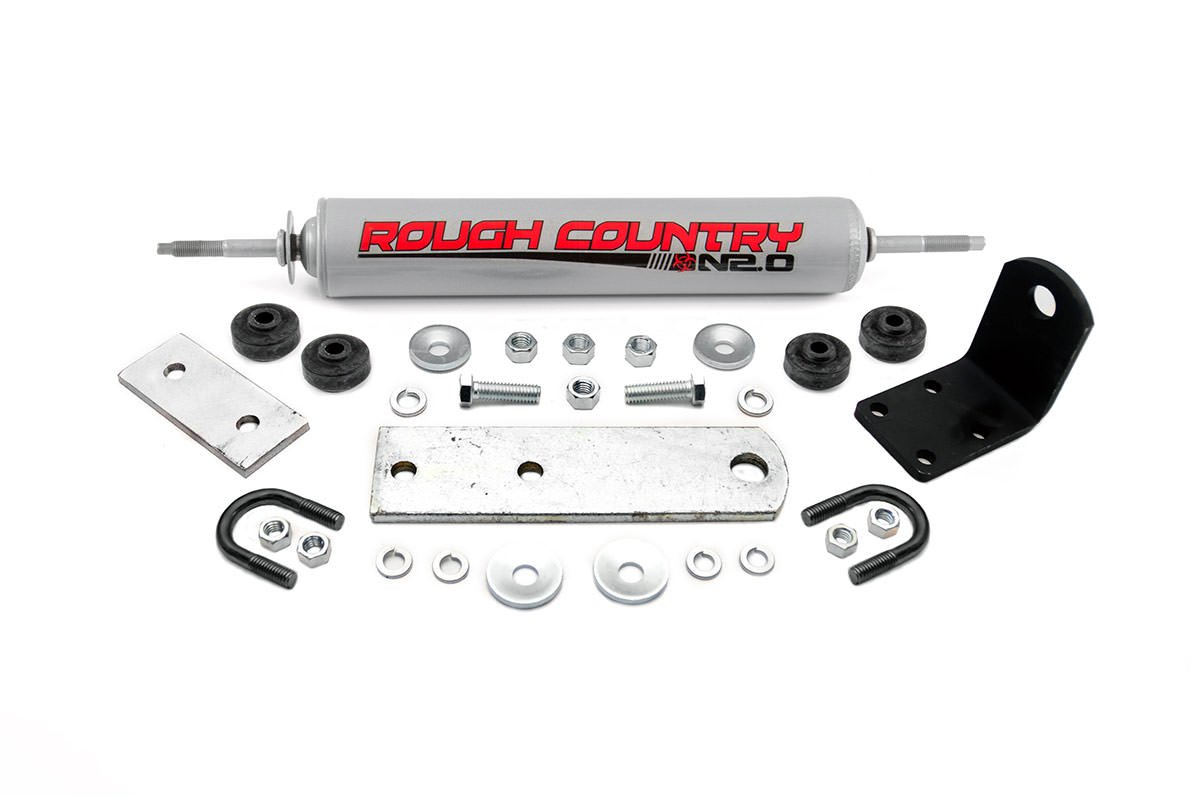 Rough Country Steering Stabilizer - Ford Ranger 83-90