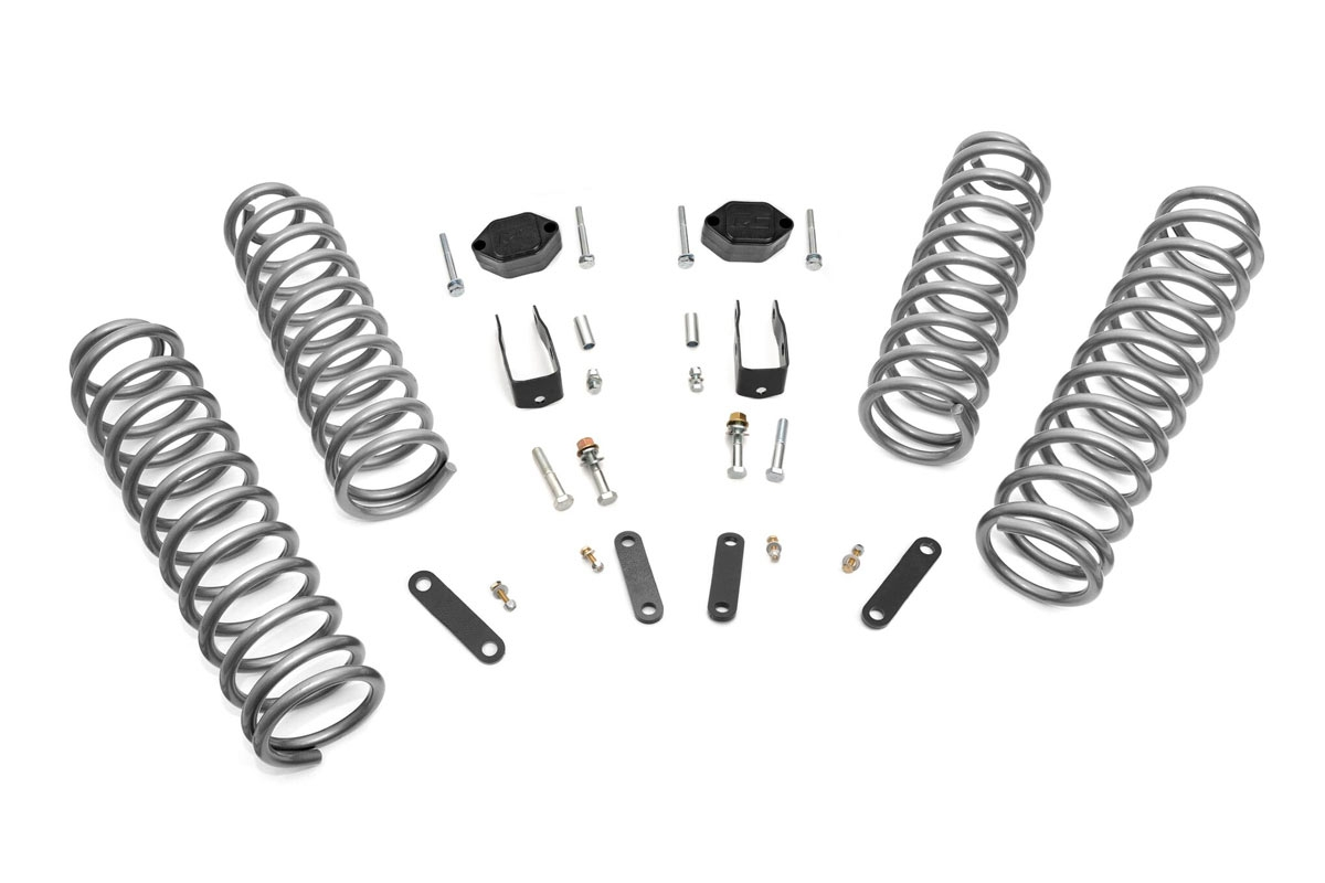 Rough Country 2.5in Suspension Lift Kit - JK 4dr