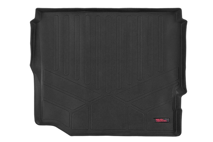 Rough Country Heavy Duty Cargo Liner w/o Factory Subwoofer - JL 4dr