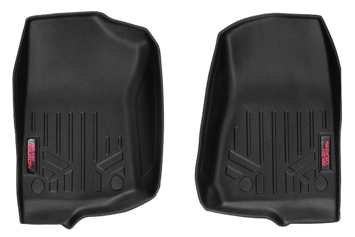 Rough Country Front Heavy Duty Floor Mats  - JT/JL