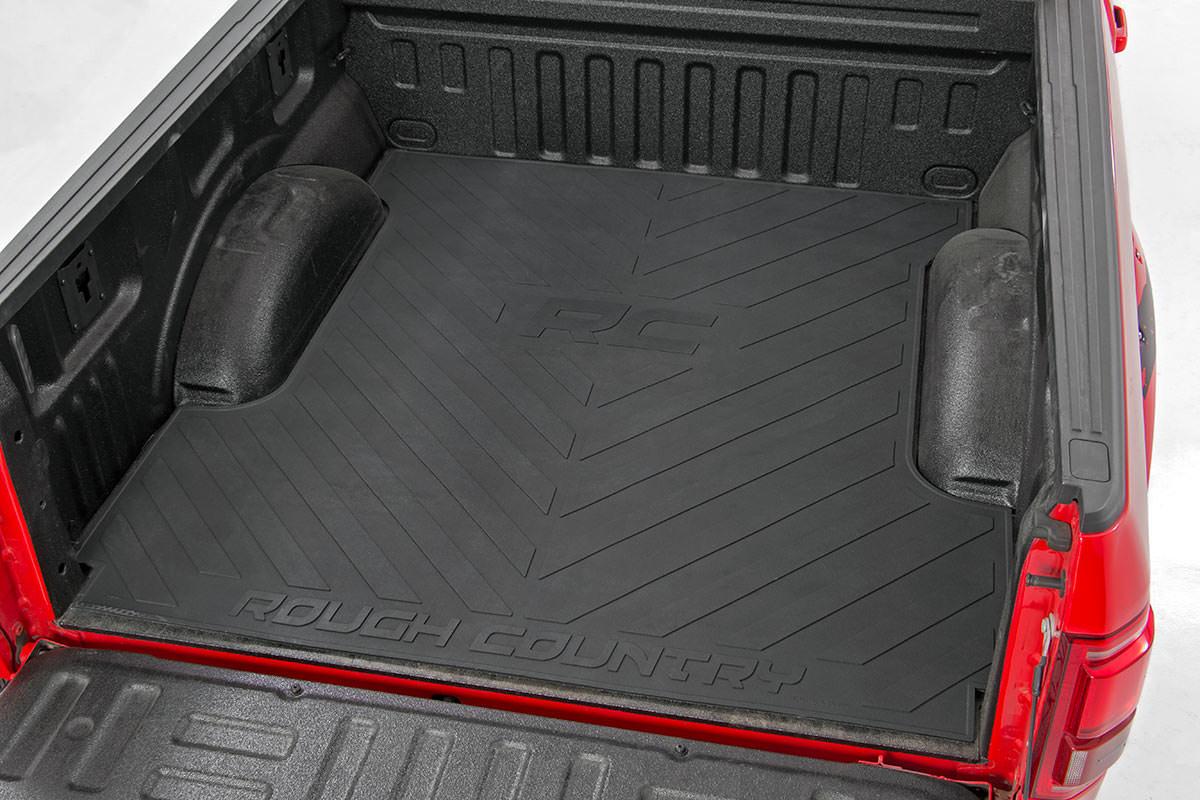 Rough Country Bed Mat, 8ft Bed - F-250/350 2017-21