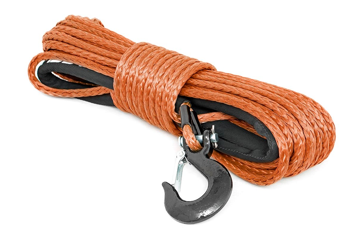 Rough Country Synthetic Winch Rope Orange