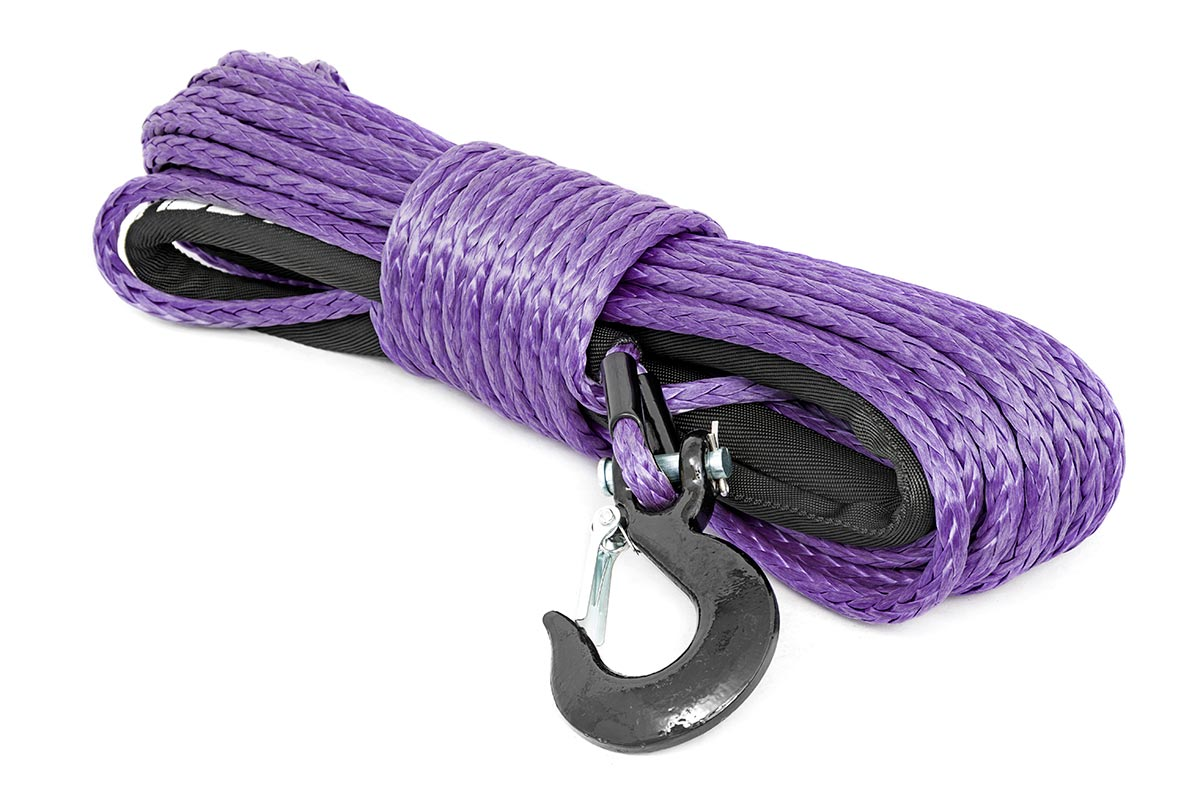 Rough Country Synthetic Winch Rope Purple